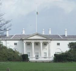 Официальная резиденция президента Ирландии Áras an Uachtaráin
