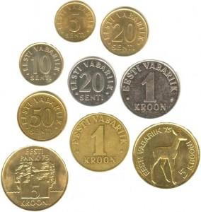 Монеты Эстонии