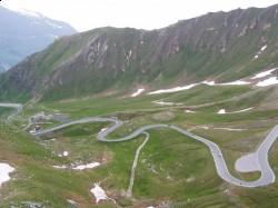 Высокогорная альпийская дорога Гроссглокнер