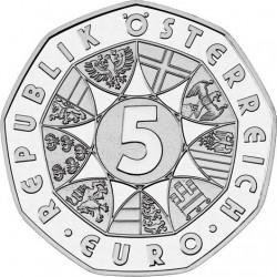 Austria 2010 5 euro 2010 Grossglockner