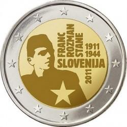 2 евро, Словения, 2011