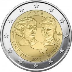 2 евро, Бельгия, 2011