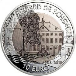 Люксембург 10 евро, 2010 год, реверс