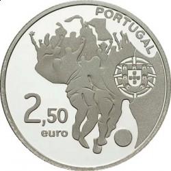 Португалия, 2,5 евро, 2010, ЧП по футболу, реверс