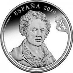 Испания, 10 евро, Хосе де Гойя, аверс