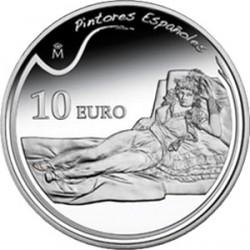 Испания, 10 евро, Хосе де Гойя, реверс