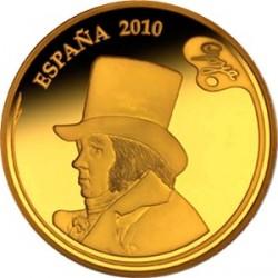 Испания, 400 евро, Хосе де Гойя, аверс
