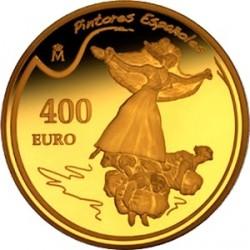 Испания, 400 евро, Хосе де Гойя, реверс