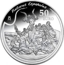 Испания, 50 евро, Хосе де Гойя, реверс