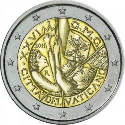 2 евро, Vatcano, 2011