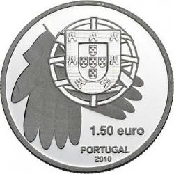 Португалия, 1,5 евро, 2010, монета против голода