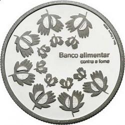 Португалия, 1,5 евро, 2010, монета против голода, реверс