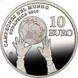 Испания, 10 евро, 2010, Испания чемпион!
