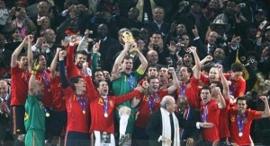 Сборная Испания завоевала кубок!