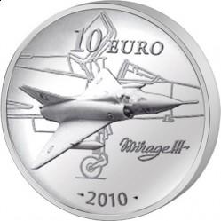Франция, 10 евро, 2010, Марсель Дассо, реверс