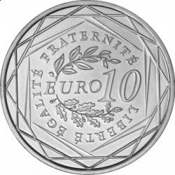 Франция, 10 евро, 2010,  regions de France