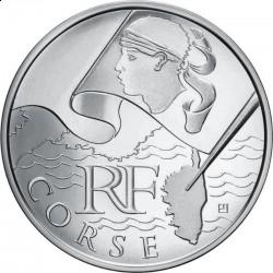 Франция, 10 евро, 2010, Корсика
