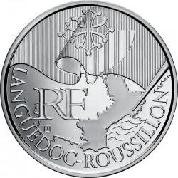 Франция, 10 евро, 2010, Лангедок — Руссильон