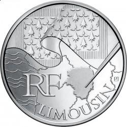Франция, 10 евро, 2010, Лимузен