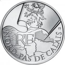 Франция, 10 евро, 2010, Нор — Па-де-Кале