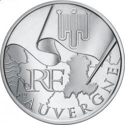 Франция, 10 евро, 2010, Овернь