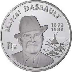 Франция, 20 евро, 2010, Марсель Дассо, аверс