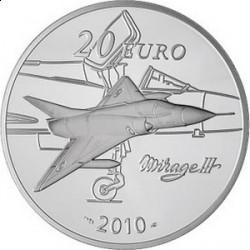 Франция, 20 евро, 2010, Марсель Дассо, реверс