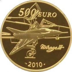 Франция, 500 евро, 2010, Марсель Дассо, реверс