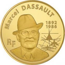 Франция, 50 евро, 2010, Марсель Дассо, аверс