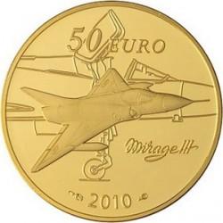 Франция, 50 евро, 2010, Марсель Дассо, реверс