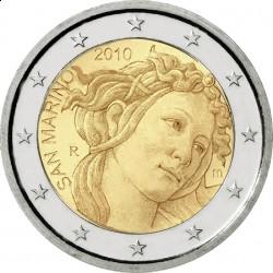 Сан-Марино, 2 евро, 2010, Боттичелли