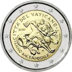 Ватикан, 2 евро, 2010