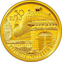 50 евро «200 лет Universalmuseum Joanneum в Граце»