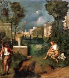 Буря (La Tempesta), ок. 1508 г., Галерея Академии, Венеция