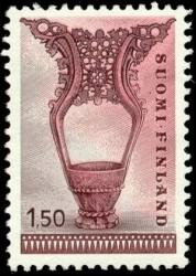 Праздничная пивная кружка (XVI в.) на финской марке