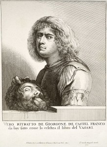 Портет Джорджоне (Вацлав Холлар, Университет Торонто, 1650)