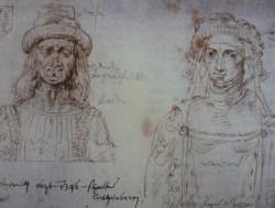 Иоанн и Елизавета (рисунок XV в.)