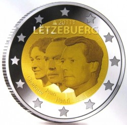 2 евро, 2011, Люксембург