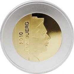 luxembourg 2010. 5 euro. Arnica montana