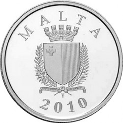 Malta 2010. 10 euro. Auberge d'Italie