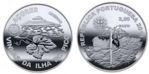 2,5 евро «Винодельческий ландшафт острова Пику»