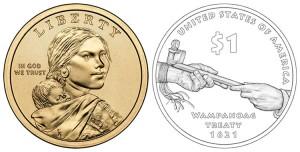 США, доллар 2011