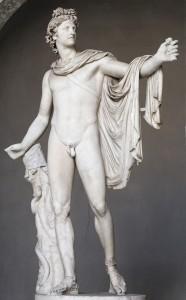 Аполлон Бельведерский, ок. 330—320 до н. э., мрамор. Музей Пия-Климента, Ватикан
