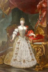 Мария Терезия в Венгерской короне