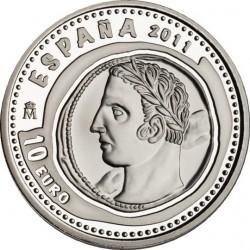Испания, 10 евро, Сокровища нумизматики, 1,5 шекеля