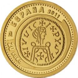 Испания, 20 евро, Сокровища нумизматики, Triente Leovigildo