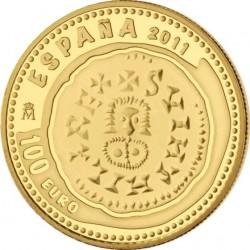Испания, 100 евро, Сокровища нумизматики, Triente Suintila