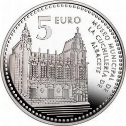 5 евро, Испанские столицы, Альбасете