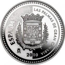 5 евро, Испанские столицы, Лас-Пальмас-де-Гран-Канария