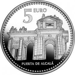 5 евро, Испанские столицы, Мадрид